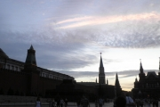 The evening glimpses of Red Square